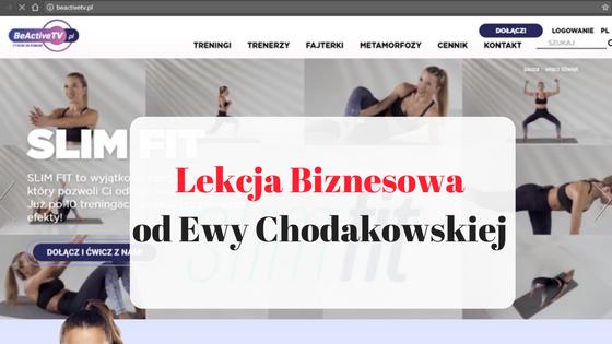 Lekcja biznesowa od Ewy Chodakowskiej post thumbnail image
