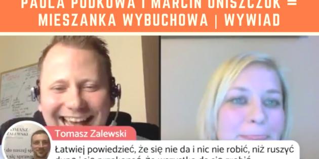 Paula Podkowa i Marcin Oniszczuk = Mieszanka Wybuchowa _ Wywiad