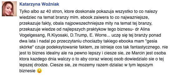 opinia Kasia Woźniak