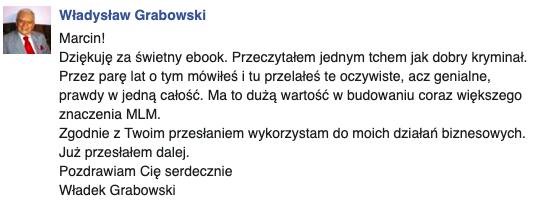 opinia Władek Grabowski